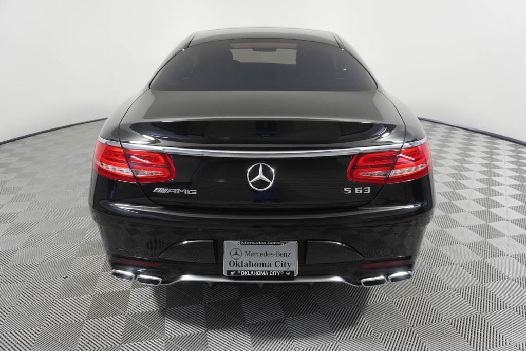 Pre-Owned 2017 Mercedes-Benz S-Class AMG® S 63 Coupe
