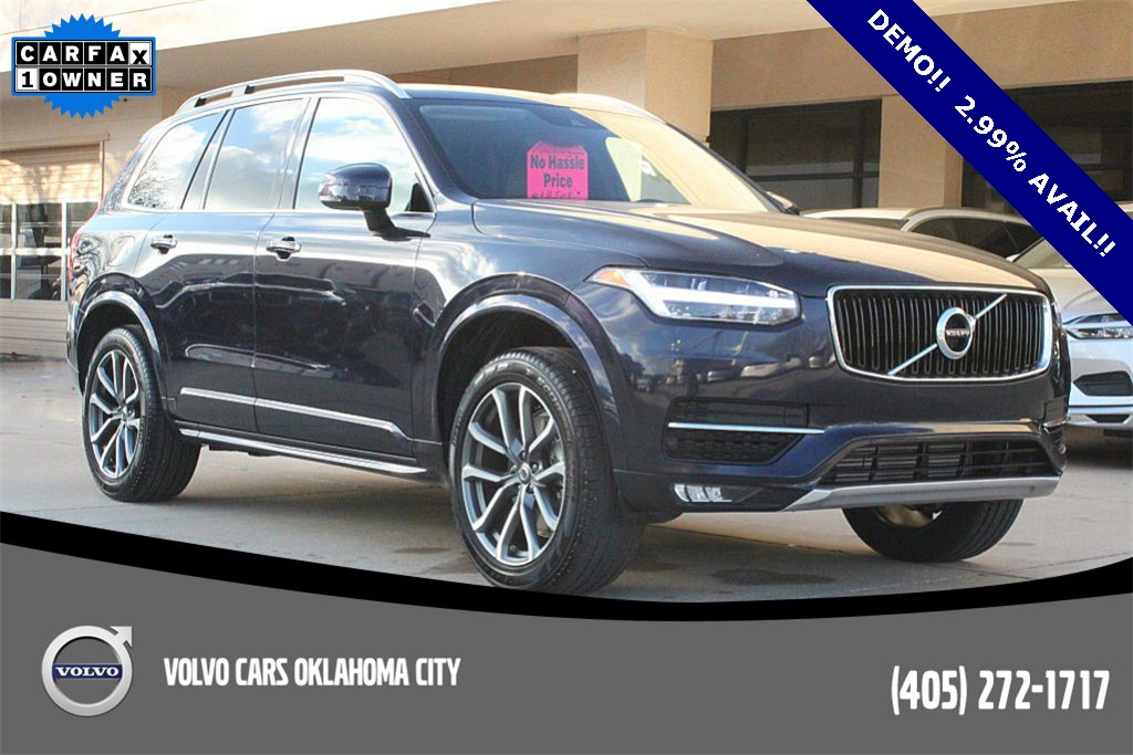 pre-owned 2019 volvo xc90 t5 momentum 4d sport utility in edmond