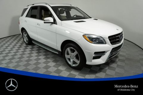 Pre-Owned 2014 Mercedes-Benz M-Class ML 350 Sport