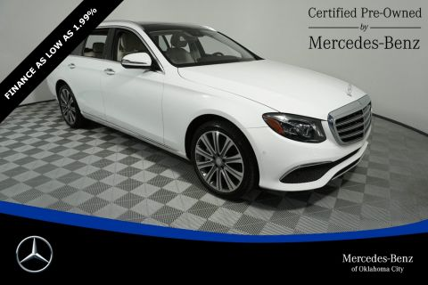 Certified Pre-Owned 2018 Mercedes-Benz E-Class E 400 Luxury